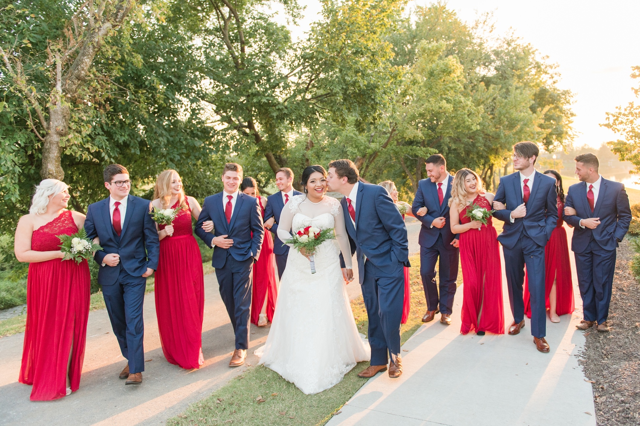 Chris + Sunny Wedding in Northwest Arkansas