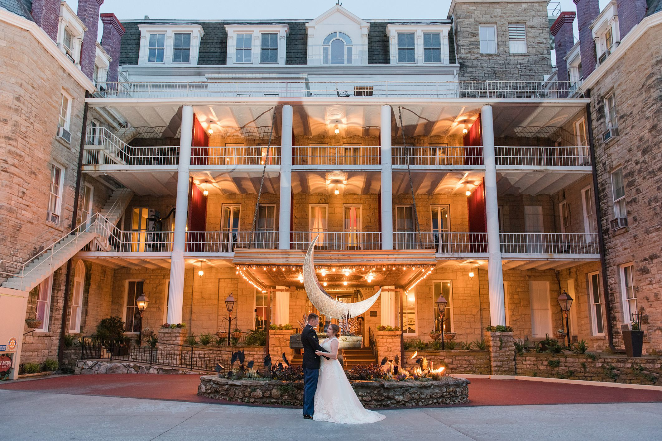 Ryan + Holly Wedding at the 1886 Crescent Hotel & Spa in Eureka Springs, AR